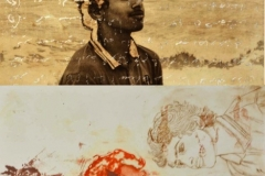 "Sara Hamad Saeed Humaid Al Khayari Multi-Plate Etching 22 x 17"""
